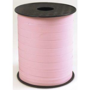 Gavebånd 10mmx250m matt lysrosa