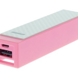 Powerbank DELTACO epzi 2200 rosa