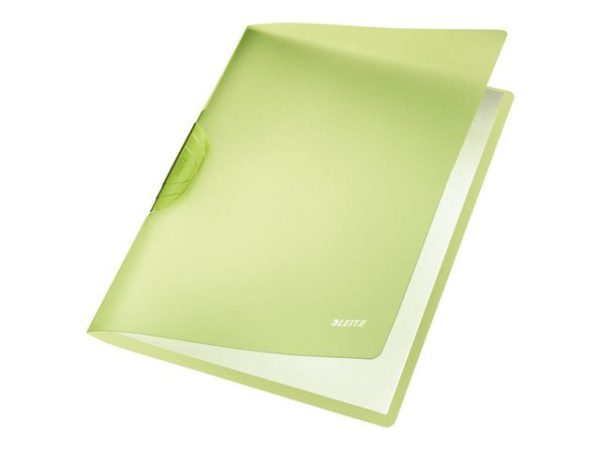 Klemmappe LEITZ ColorClip RB A4 grønn