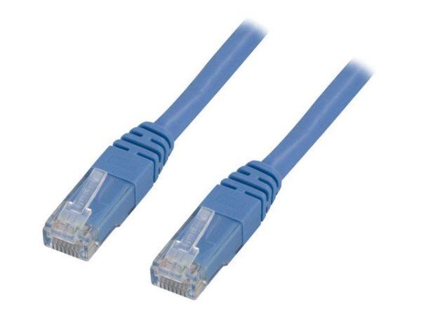 Kabel DELTACO nettverk Cat6 2m blå