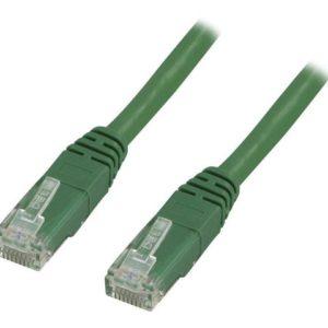 Kabel DELTACO nettverk Cat6 5m grønn