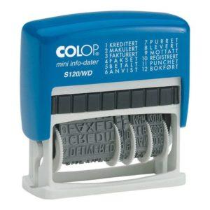 Stempel COLOP S-120/WD