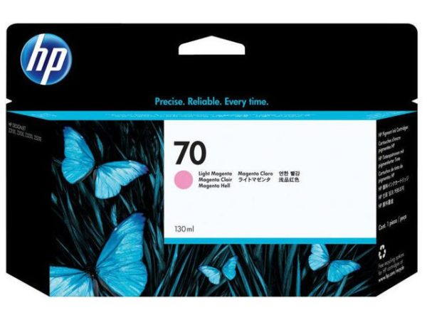 Blekk HP 70 130 ml light magenta