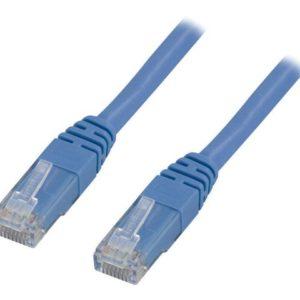 Kabel DELTACO nettverk Cat6 5m blå