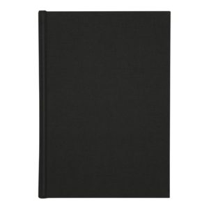 Skrivebok BURDE A4 linjer sort