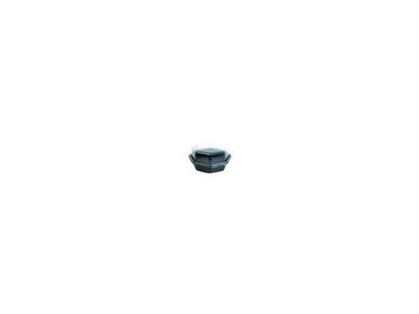 Plastbeger DUNI 16x16x8cm sort (405)