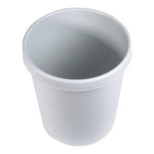 Papirkurv HELIT 30L lys grå