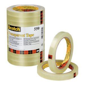 Disktape SCOTCH® 550 12mmx66m transp.