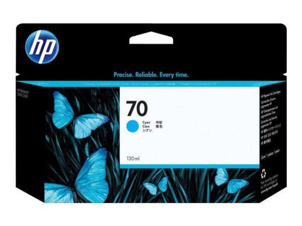 Blekk HP 70 130 ml cyan