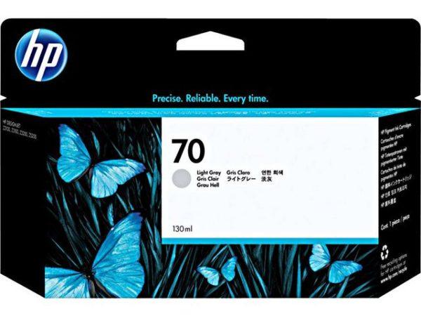 Blekk HP 70 130 ml lys grå
