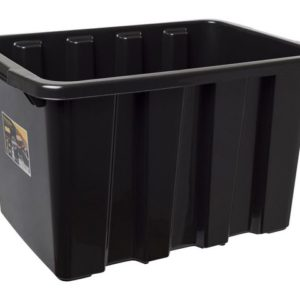 Oppbevaringsboks STRONGBOX 55L sort