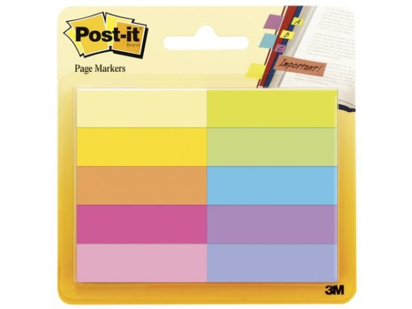 POST-IT Index ass 10 farger (10)