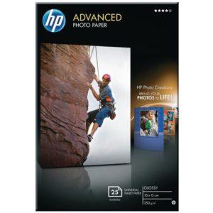 Fotopapir HP Q8691A Adv gloss 10x15 (25