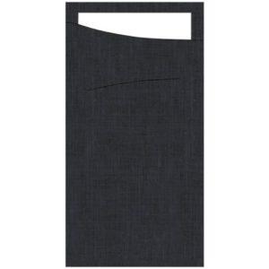 Sacchetto DUNI 40cm sort m/dunisoft (60