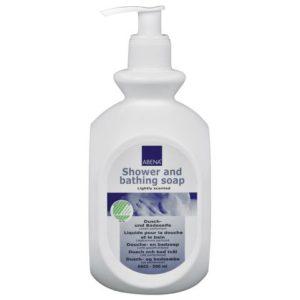 Dusj og badesåpe ABENA 500 ml m/parf.