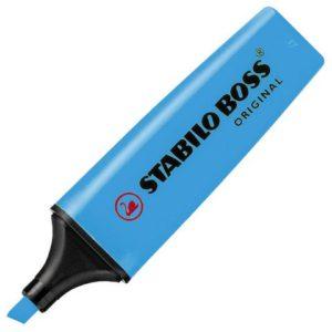 Tekstmarker STABILO Boss blå