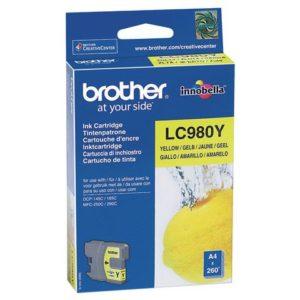 Blekk BROTHER LC980Y gul