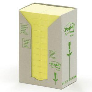 POST-IT Green Line 38x50mm gul (24)