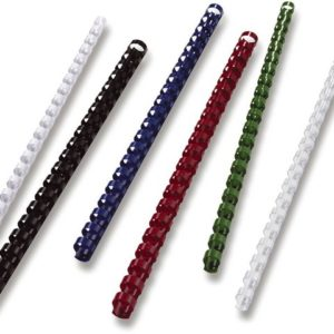 Plastspiral GBC 25mm hvit(50)