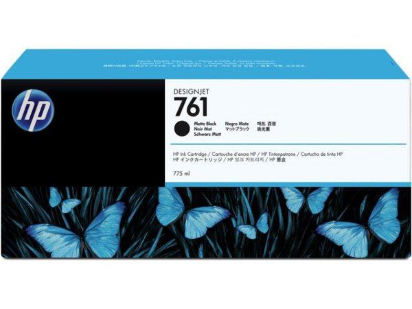 Blekk HP 761 775-ml matt sort