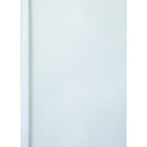 Omslag liminnbinding GBC 10mm hvit (100