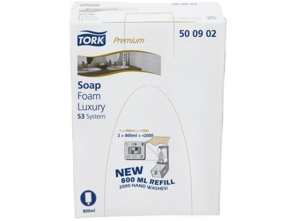 Skumsåpe TORK Premium luksus S3 0