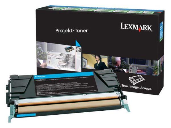 Toner LEXMARK CC X746A3CG 7K blå
