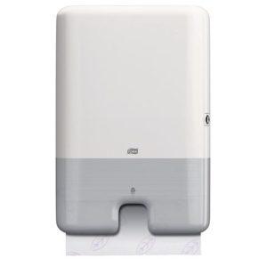 Dispenser TORK tørk multif mini H2 hvit