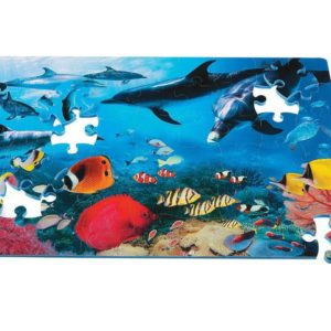 Puslespill gulv havet