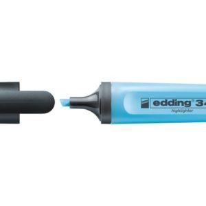 Tekstmarker EDDING 345 blå