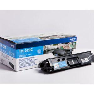 Toner BROTHER TN329C xhigh capacity blå