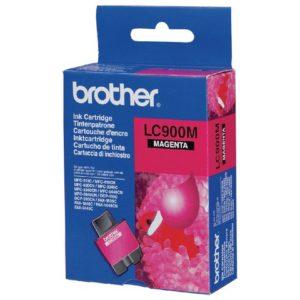 Blekk BROTHER LC900M rød