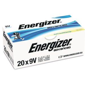 Batteri ENERGIZER Alka Adv 9V (20)