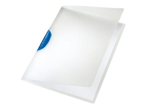 Klemmappe LEITZ ColorClip blå