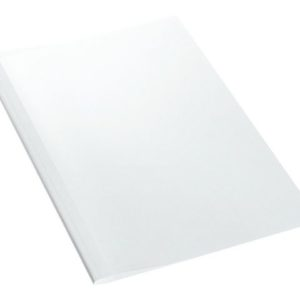 Liminnbindingsmappe LEITZ 3mm hvit (100