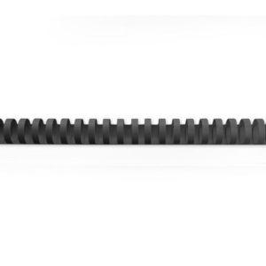 Plastspiral GBC 16mm 21 ringer sort(100