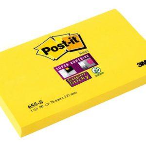POST-IT SuperS 76x127mm 655-S ultragul