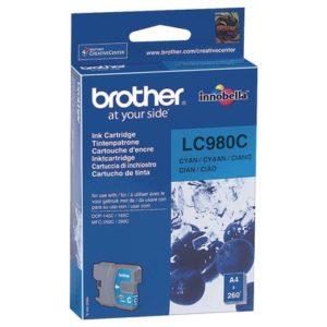 Blekk BROTHER LC980C blå