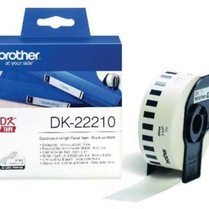 Etikett BROTHER DK-22210 29mmx30