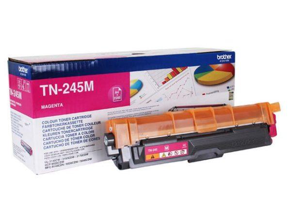 Toner BROTHER TN245M 2.2K rød