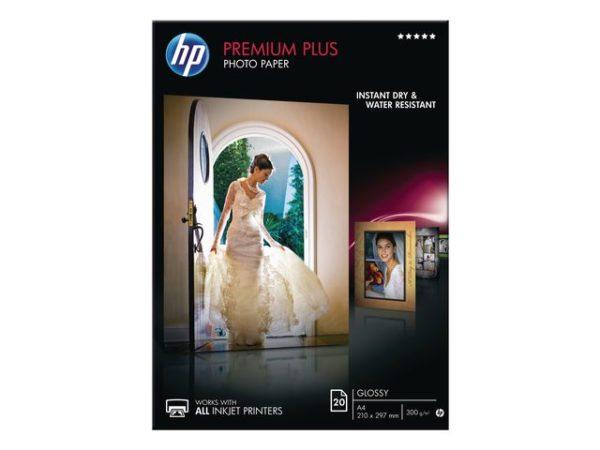 Fotopapir HP Prem plus A4 gloss (20)