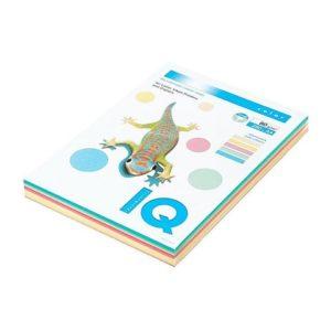 Kopipapir IQ Pastell A4 80g 5 frg (250)