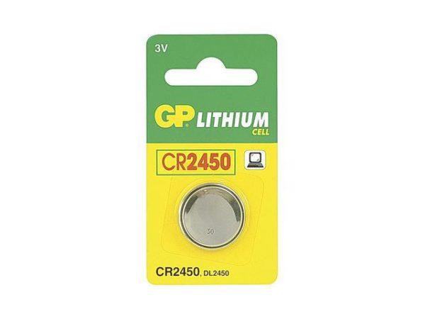 Batteri GP Lithium CR2450-C1 3V