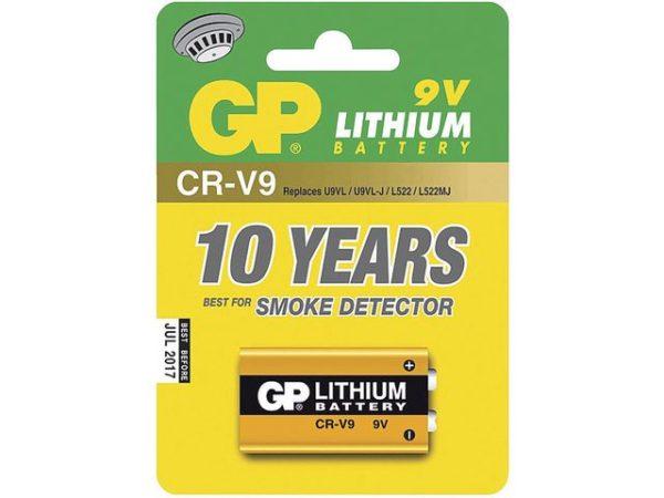 Batteri GP CRV9SD-2U1 9V lithium