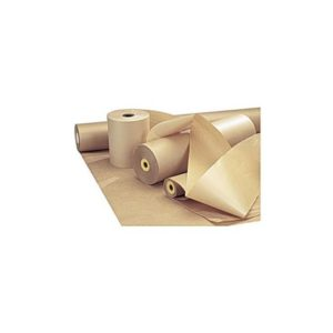 Papir ubleket kraft 100g 110cm 10kg/rul