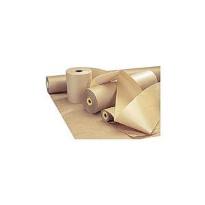 Papir ubleket kraft 100g 125cm 10kg/rul