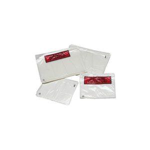 Pakkseddelpose C5 plast u/trykk (1000)