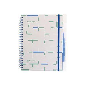 Notatbok EMO A4 indeks 150 blad ass