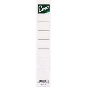 Ryggetikett EMO smalordner (10)