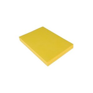Dekorasjonskartong A4 220g gul